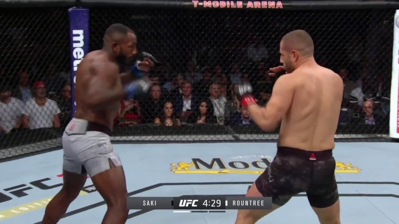 UFC Dövüş Gecesi I Gökhan Saki vs Khalil Rountree