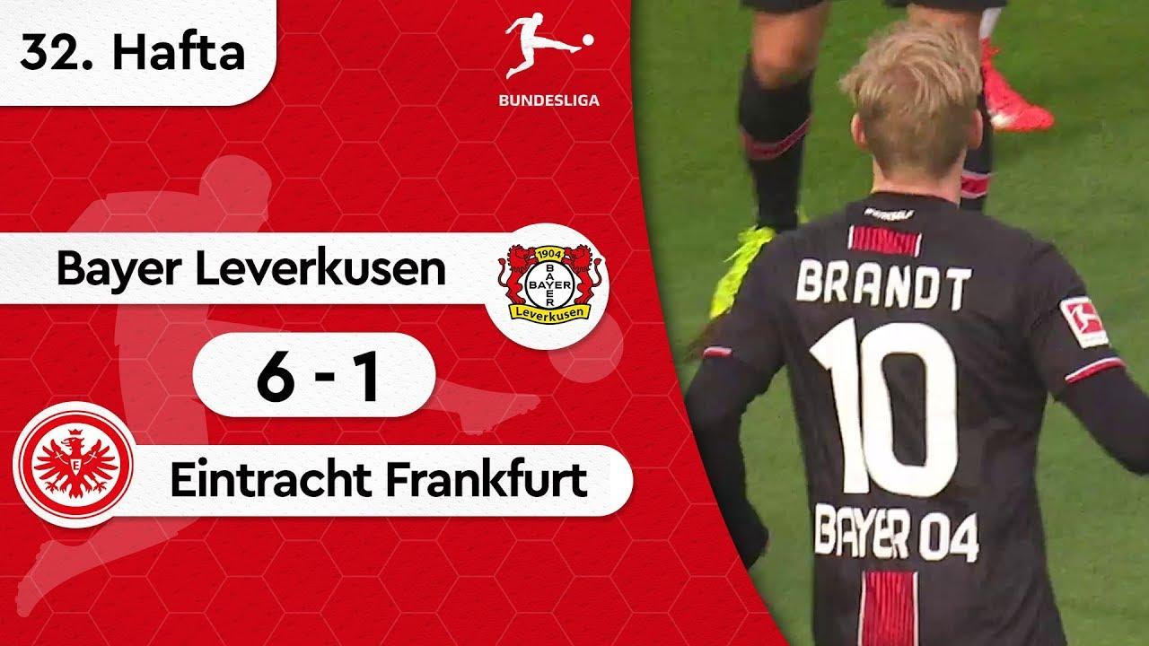 Bayer Leverkusen - Eintracht Frankfurt (6-1) - Maç Özeti - Bundesliga 2018/19