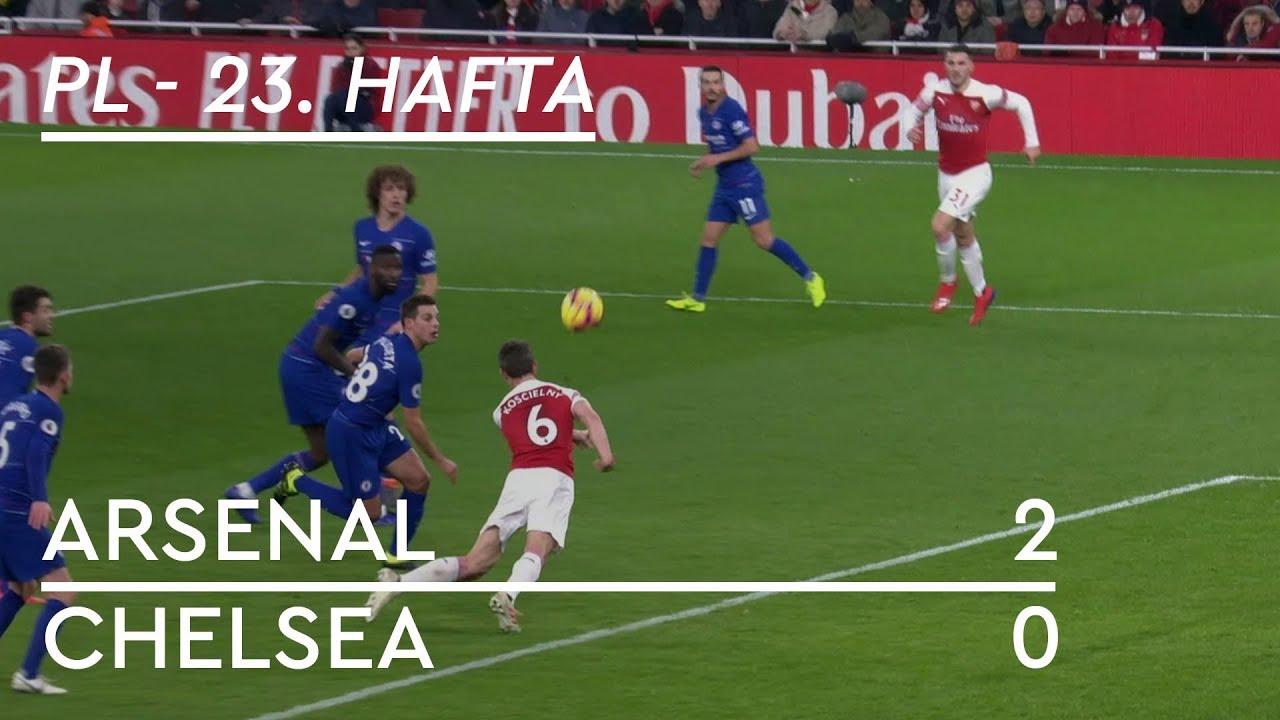 Arsenal - Chelsea (2-0) - Maç Özeti - Premier League 2018/19