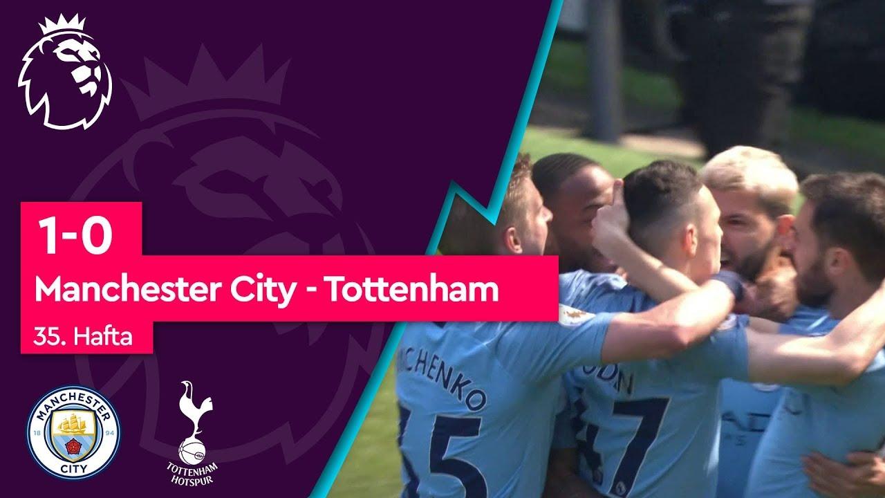 Manchester City - Tottenham (1-0) - Maç Özeti - Premier League 2018/19