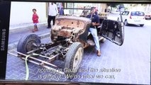 Gaza man wheels and deals to restore classic cars