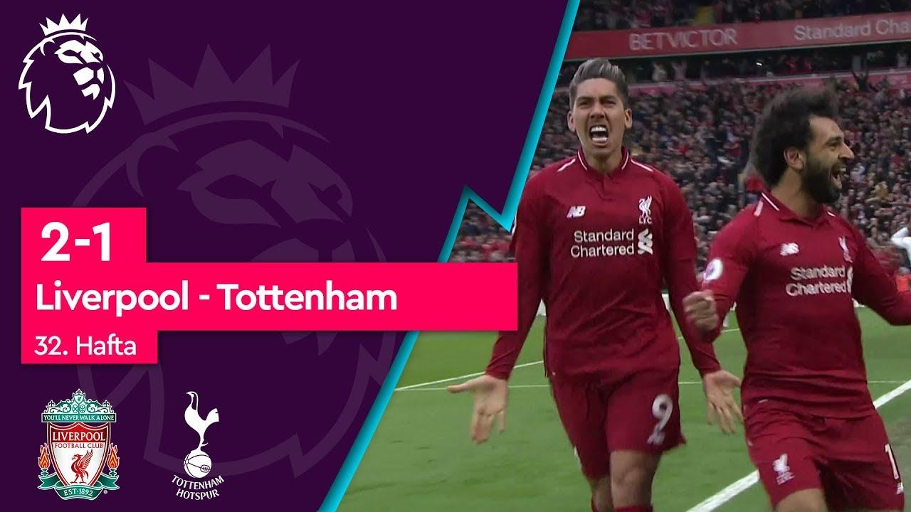 Liverpool - Tottenham (2-1) - Maç Özeti - Premier League 2018/19
