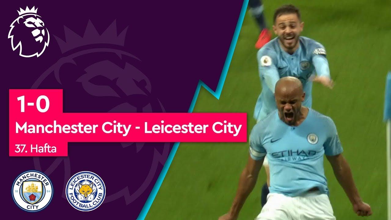Manchester City - Leicester City (1-0) - Maç Özeti - Premier League 2018/19
