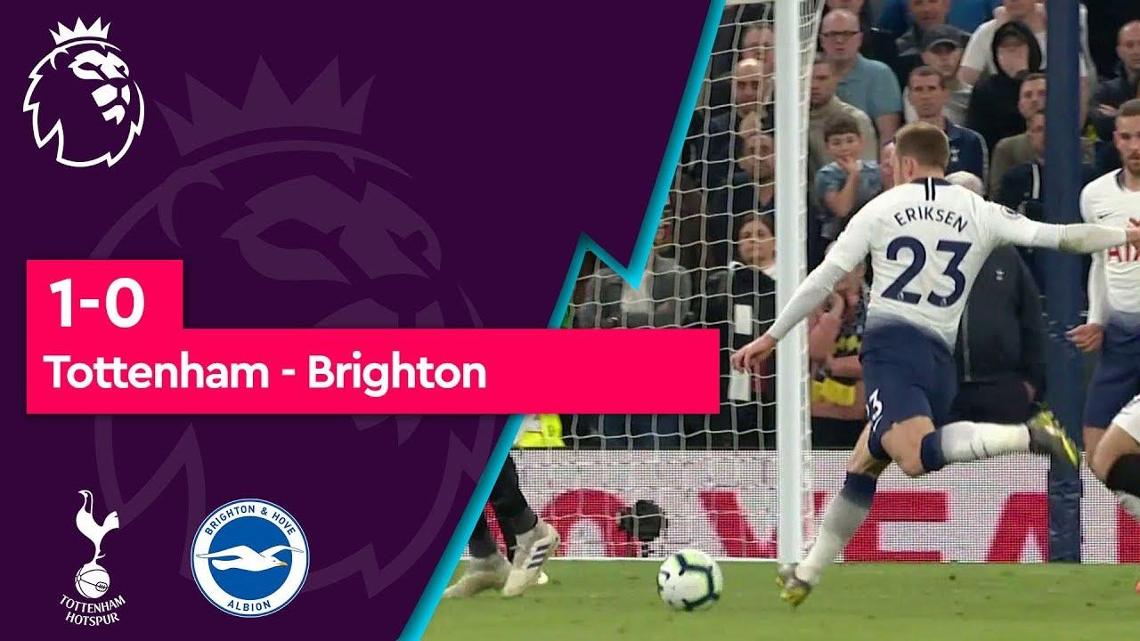 Tottenham - Brighton (1-0) - Maç Özeti - Premier League 2018/19