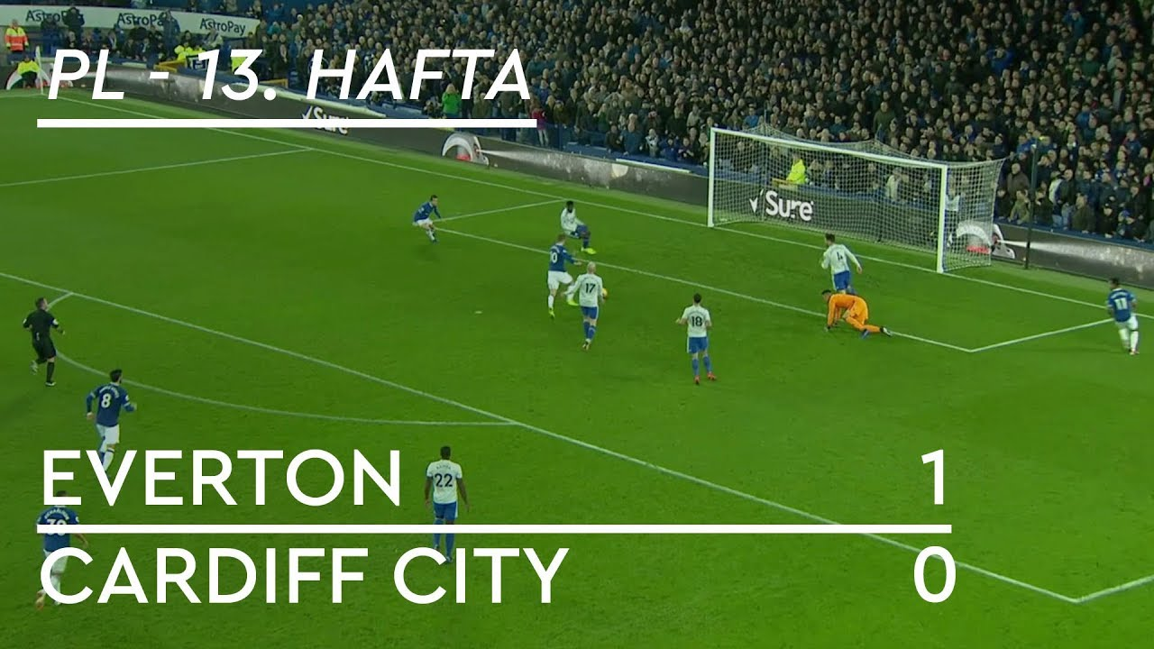 Everton - Cardiff City (1-0) - Maç Özeti - Premier League 2018/19