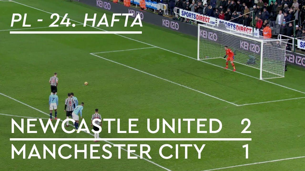 Newcastle United - Manchester City (2-1) - Maç Özeti - Premier League 2018/19