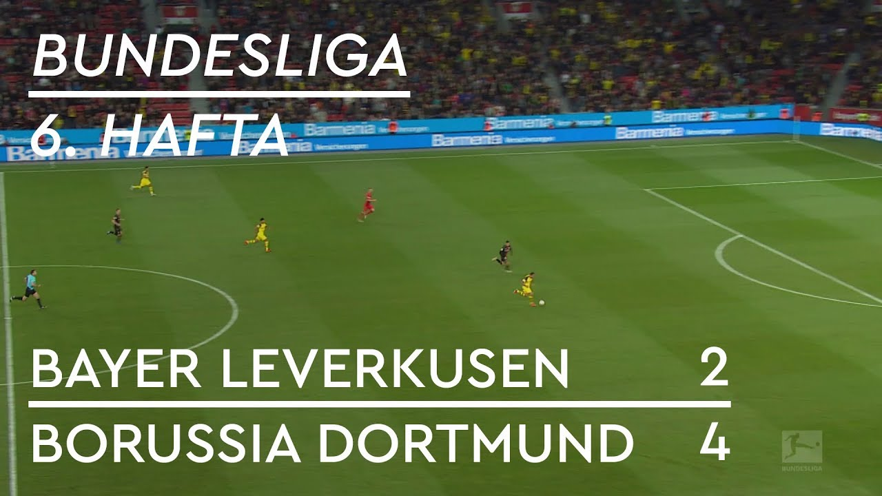 Bayer Leverkusen  - Borussia Dortmund (2-4) - Maç Özeti - Bundesliga 2018/19