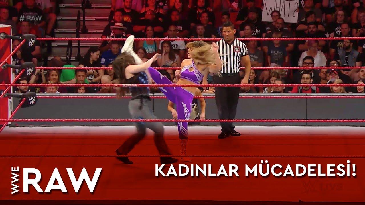 WWE Raw | Kadınlar Mücadelesi! (Türkçe Anlatım)