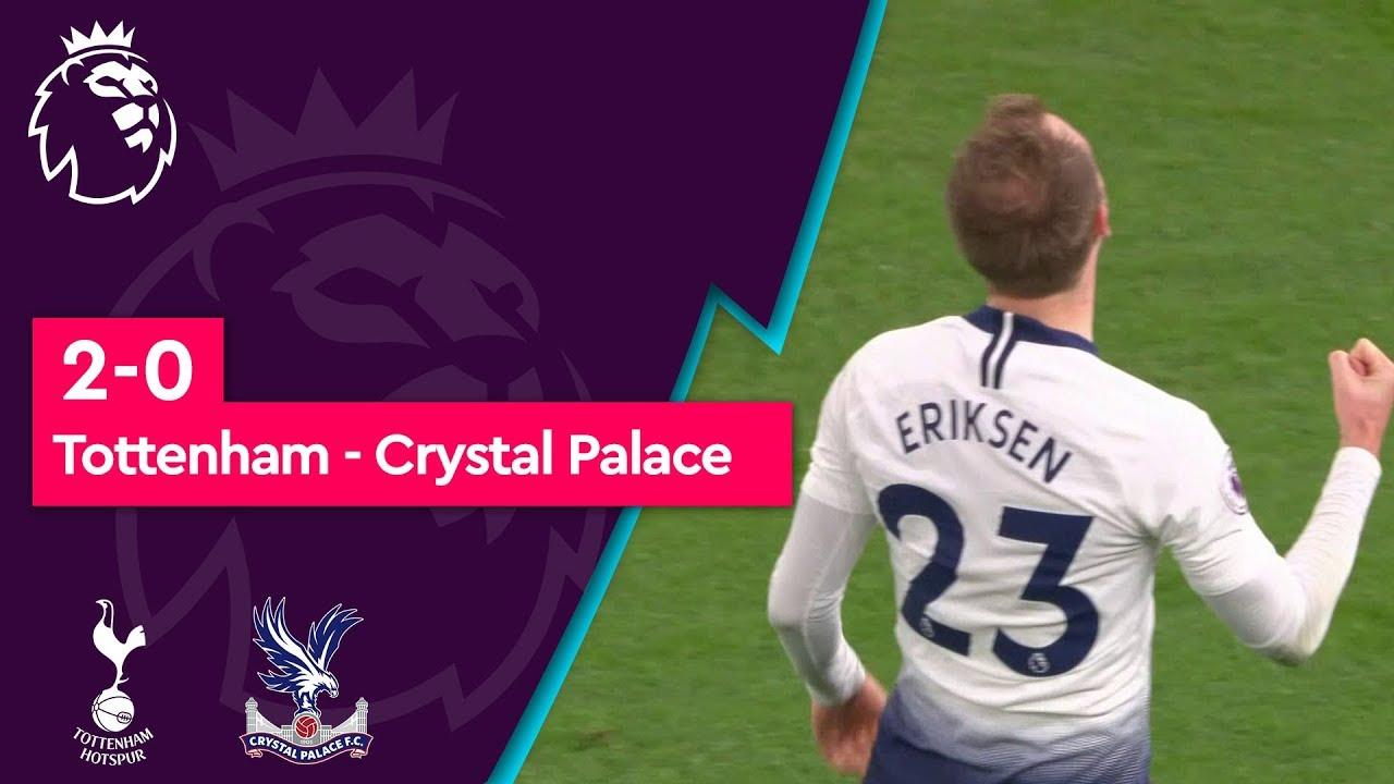 Tottenham - Crystal Palace (2-0) - Maç Özeti - Premier League 2018/19