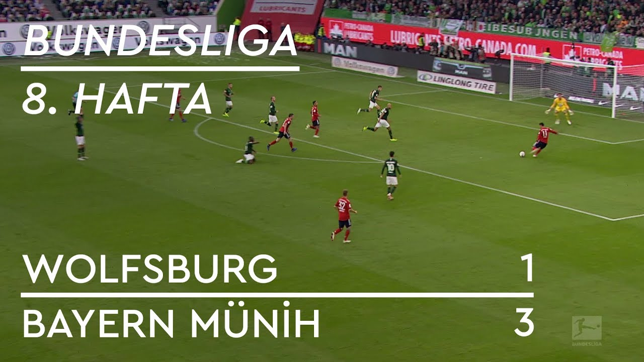Wolfsburg - Bayern Münih (1-3) - Maç Özeti - Bundesliga 2018/19