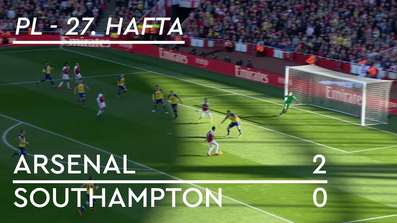 Arsenal - Southampton (2-0) - Maç Özeti - Premier League 2018/19