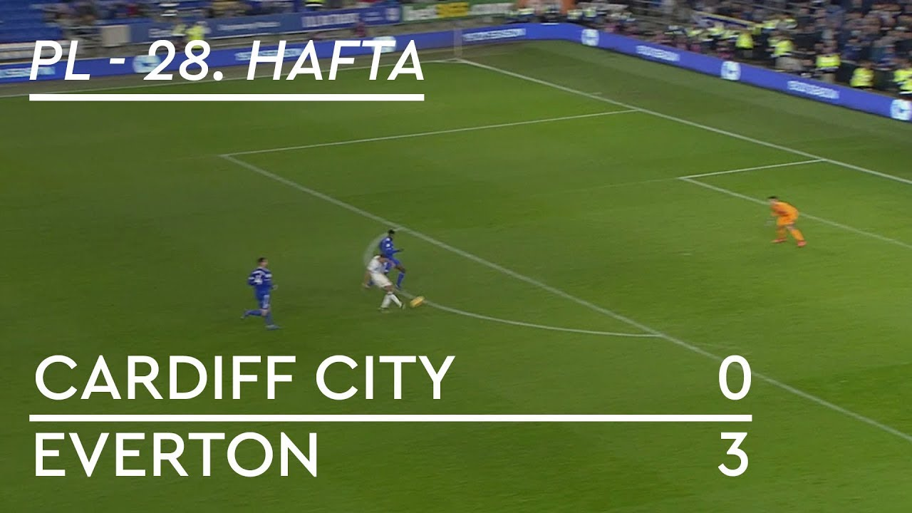 Cardiff City - Everton (0-3) - Maç Özeti - Premier League 2018/19