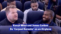 Kanye West Breaks 'Carpool Karaoke'