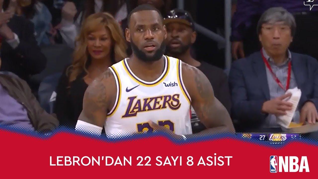 LeBron'dan 22 Sayı 8 Asist!