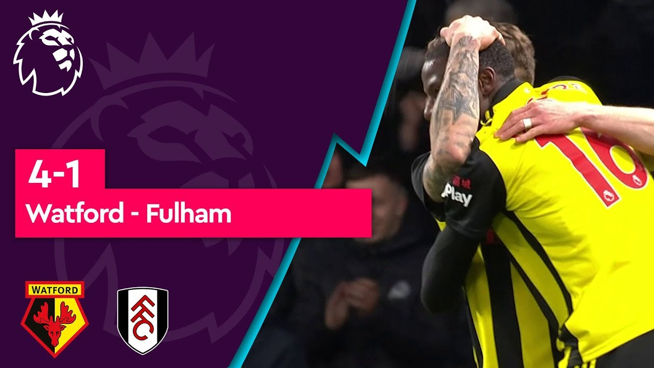 Watford - Fulham (4-1) - Maç Özeti - Premier League 2018/19