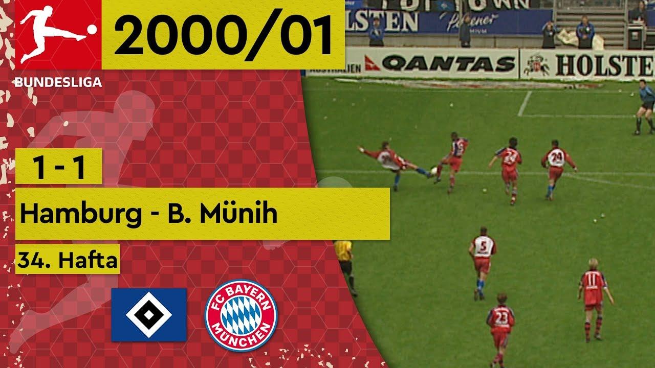 Hamburg - Bayern Münih (1-1) - Maç Özeti - Bundesliga 2000/01