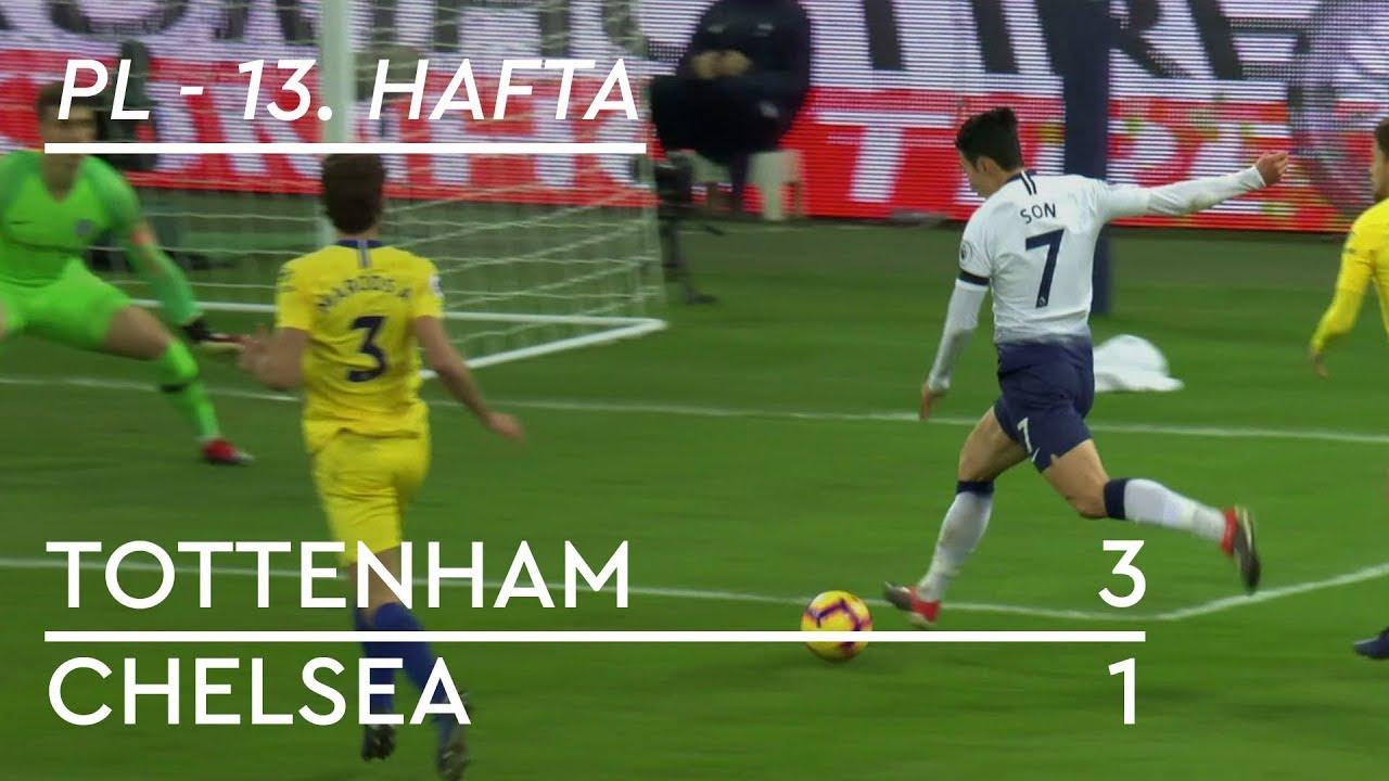 Tottenham - Chelsea (3-1) - Maç Özeti - Premier League 2018/19
