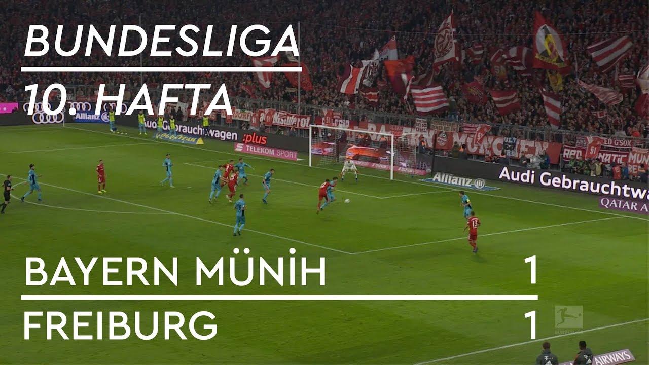 Bayern Münih - Freiburg (1-1) - Maç Özeti - Bundesliga 2018/19
