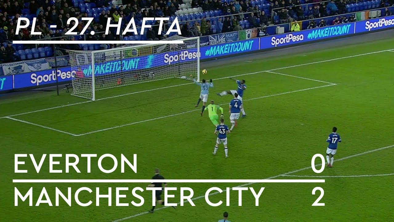 Everton - Manchester City (0-2) - Maç Özeti - Premier League 2018/19