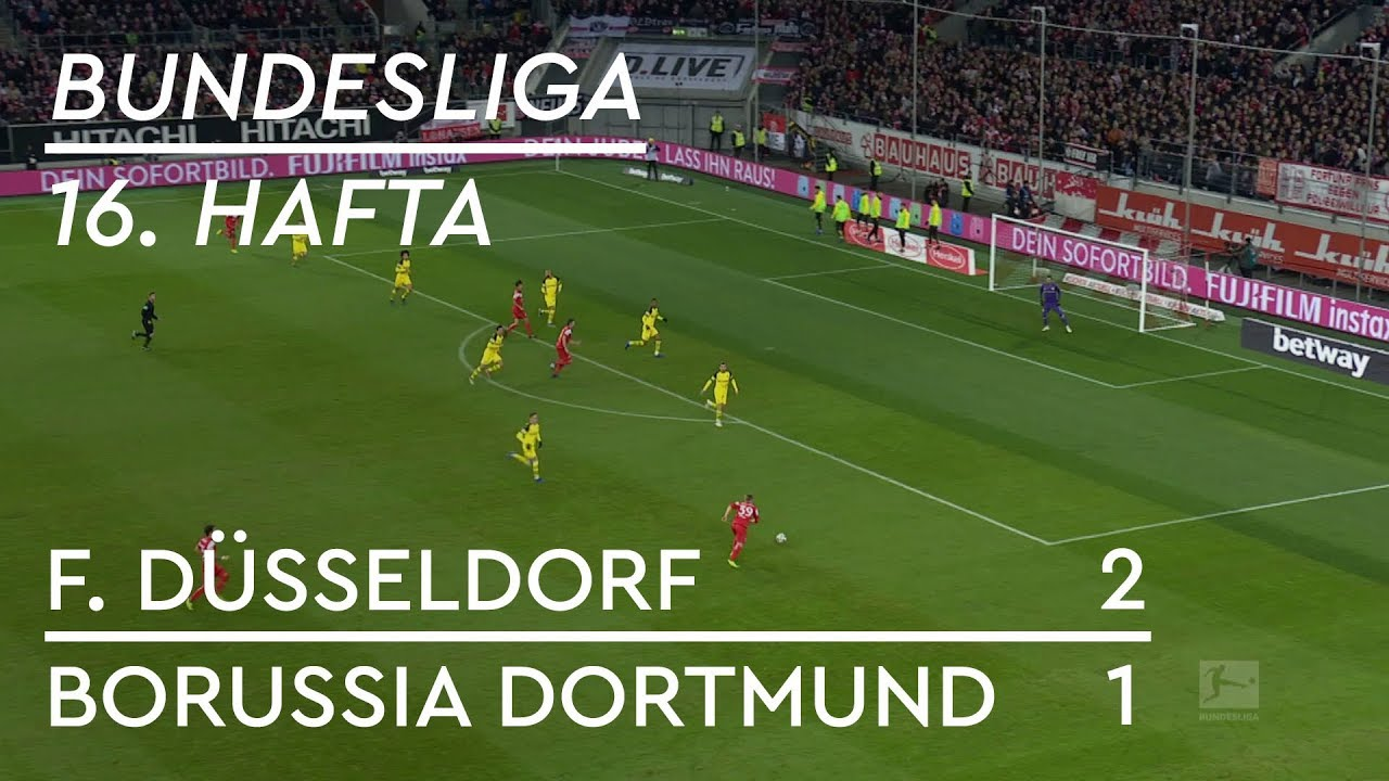 Fortuna Düsseldorf - Borussia Dortmund (2-1) - Maç Özeti - Bundesliga 2018/19 - Türkçe Anlatım