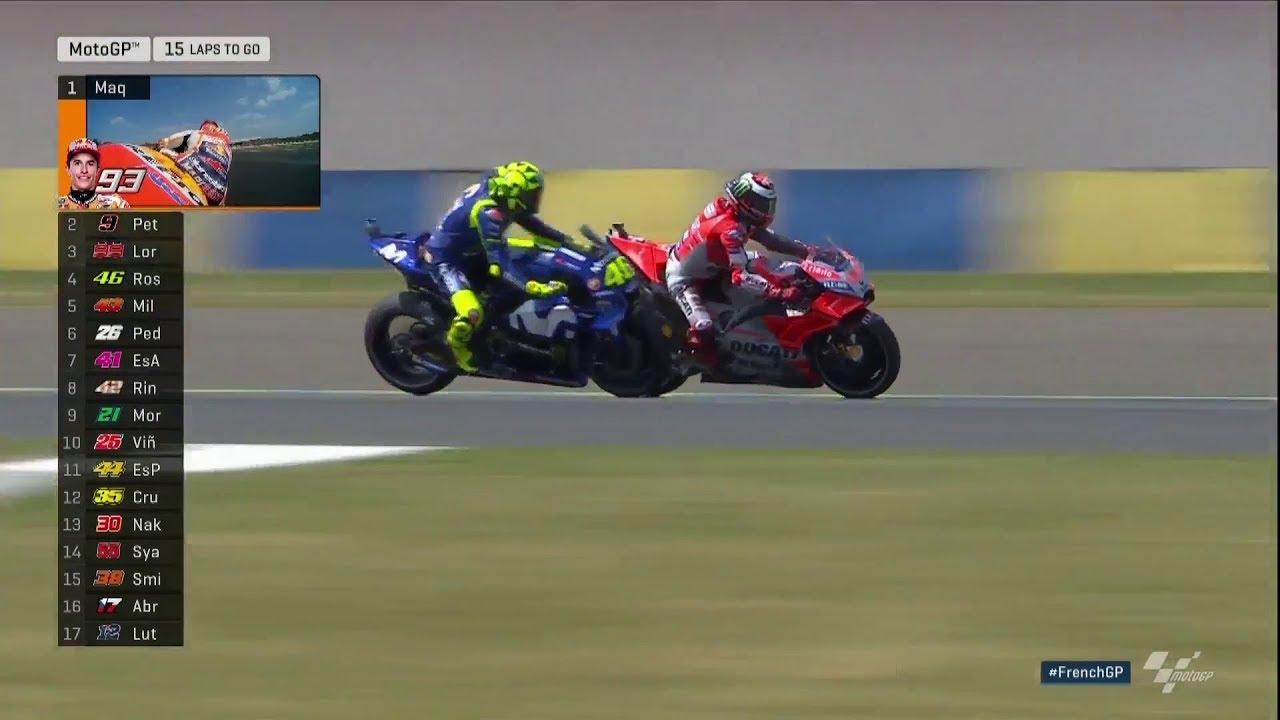 Rossi'den Büyük Atak! (MotoGP 2018 - Fransa Grand Prix)