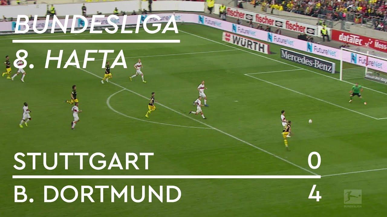 Stuttgart - Borussia Dortmund (0-4) - Maç Özeti - Bundesliga 2018/19