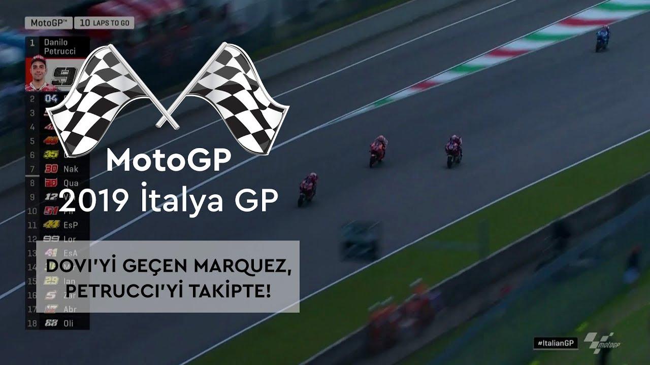 Dovi'yi Geçen Marquez, Petrucci'yi Takipte! (MotoGP 2019 - İtalya Grand Prix)