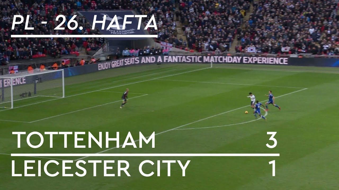 Tottenham Hotspur - Leicester City (3-1) - Maç Özeti - Premier League 2018/19