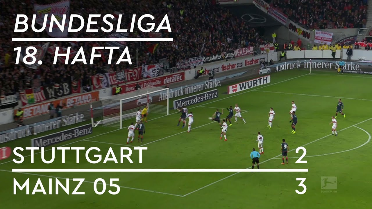 Stuttgart - Mainz 05 (2-3) - Maç Özeti - Bundesliga 2018/19