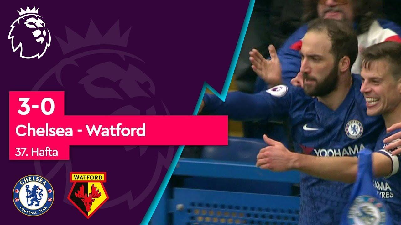 Chelsea - Watford (3-0) - Maç Özeti - Premier League 2018/19