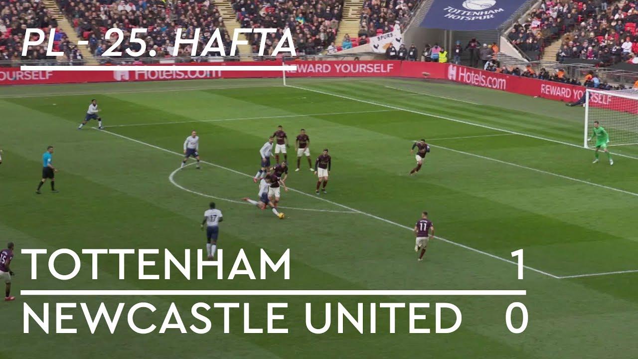 Tottenham - Newcastle (1-0) - Maç Özeti - Premier League 2018/19