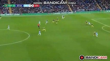 Amazing Goal Aguero (2-0) Manchester City vs Southampton