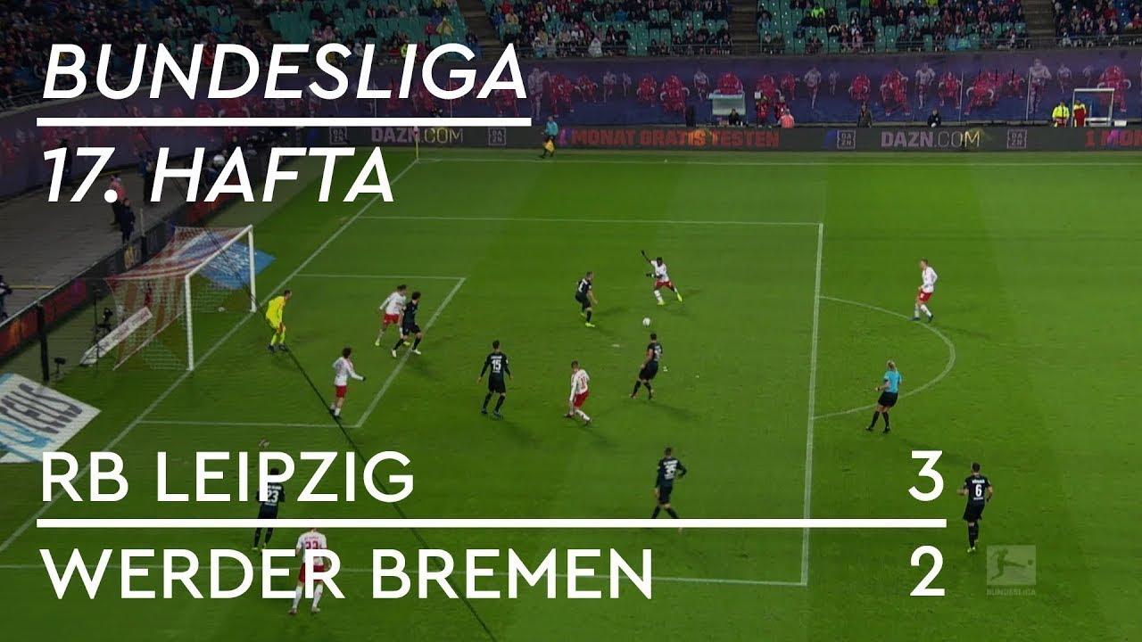 RB Leipzig - Werder Bremen (3-2) - Maç Özeti - Bundesliga 2018/19 - Türkçe Anlatım