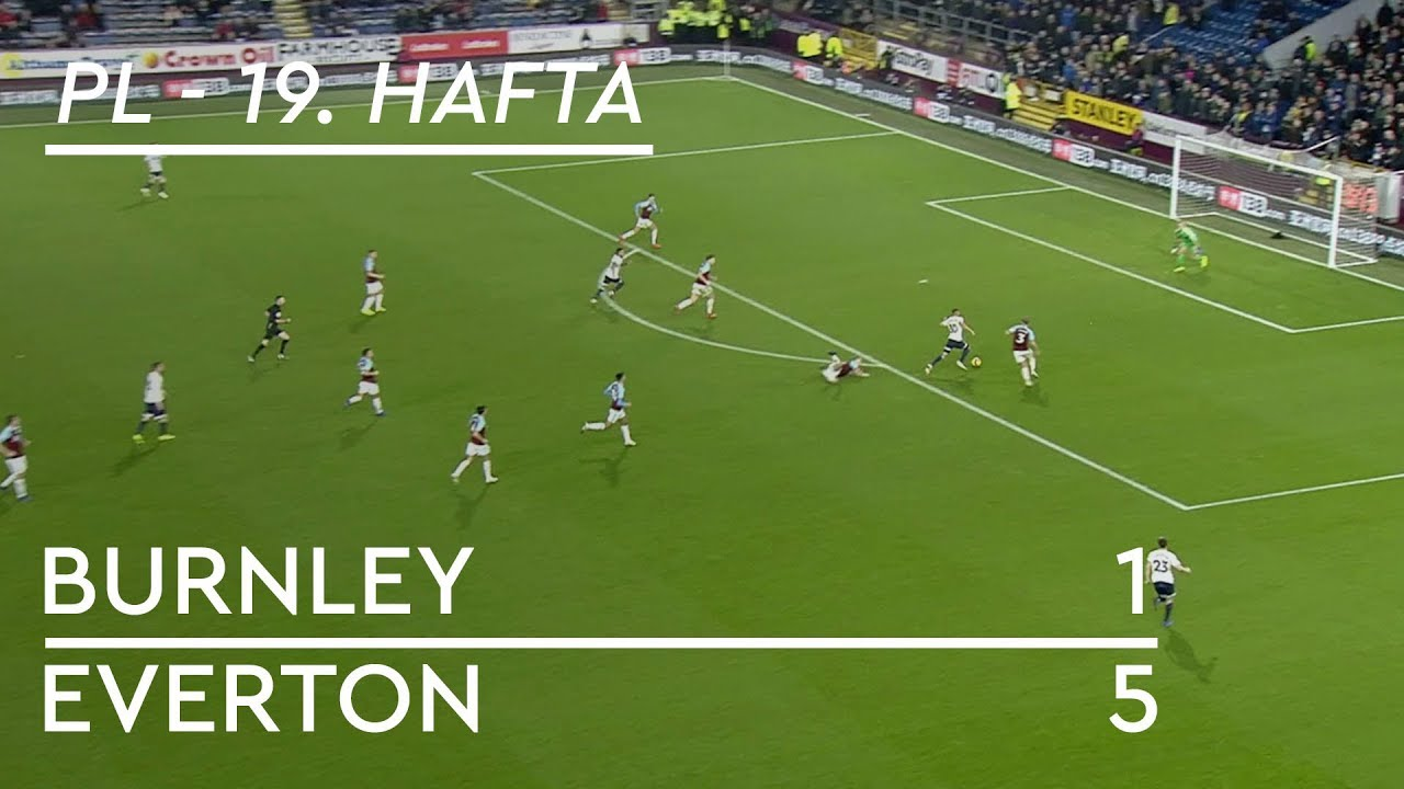 Burnley - Everton (1-5) - Maç Özeti - Premier League 2018/19