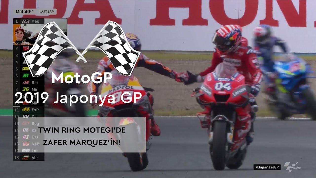 Twin Ring Motegi'de Zafer Marquez'in! (MotoGP 2019 - Japonya Grand Prix)