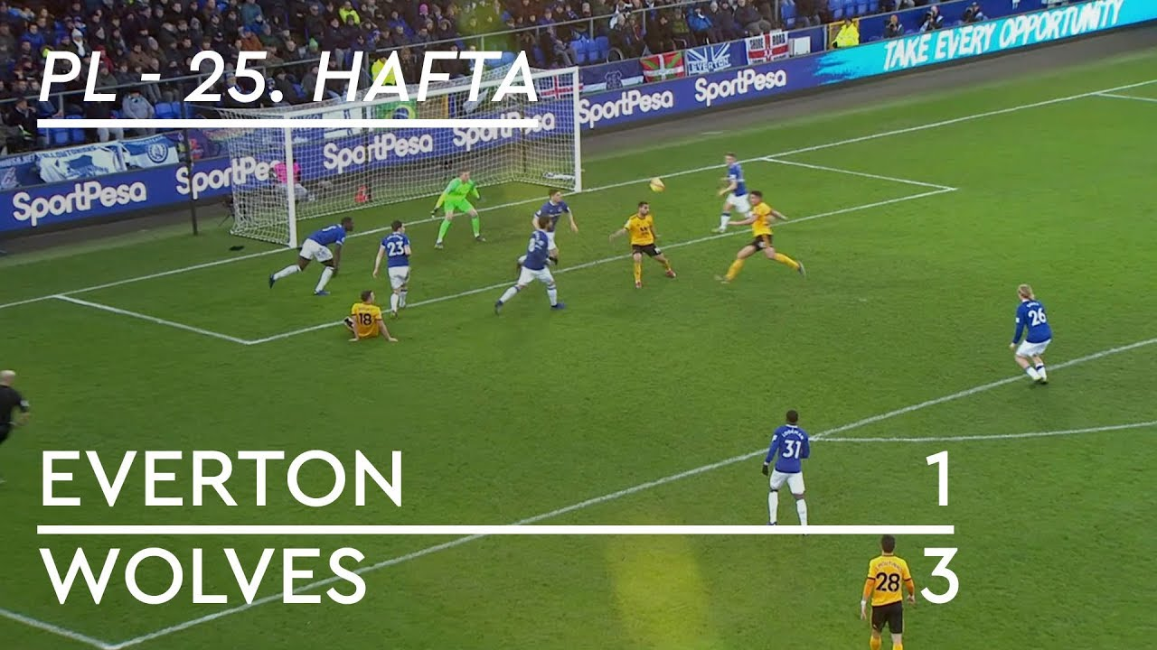 Everton - Wolves (1-3) - Maç Özeti - Premier League 2018/19