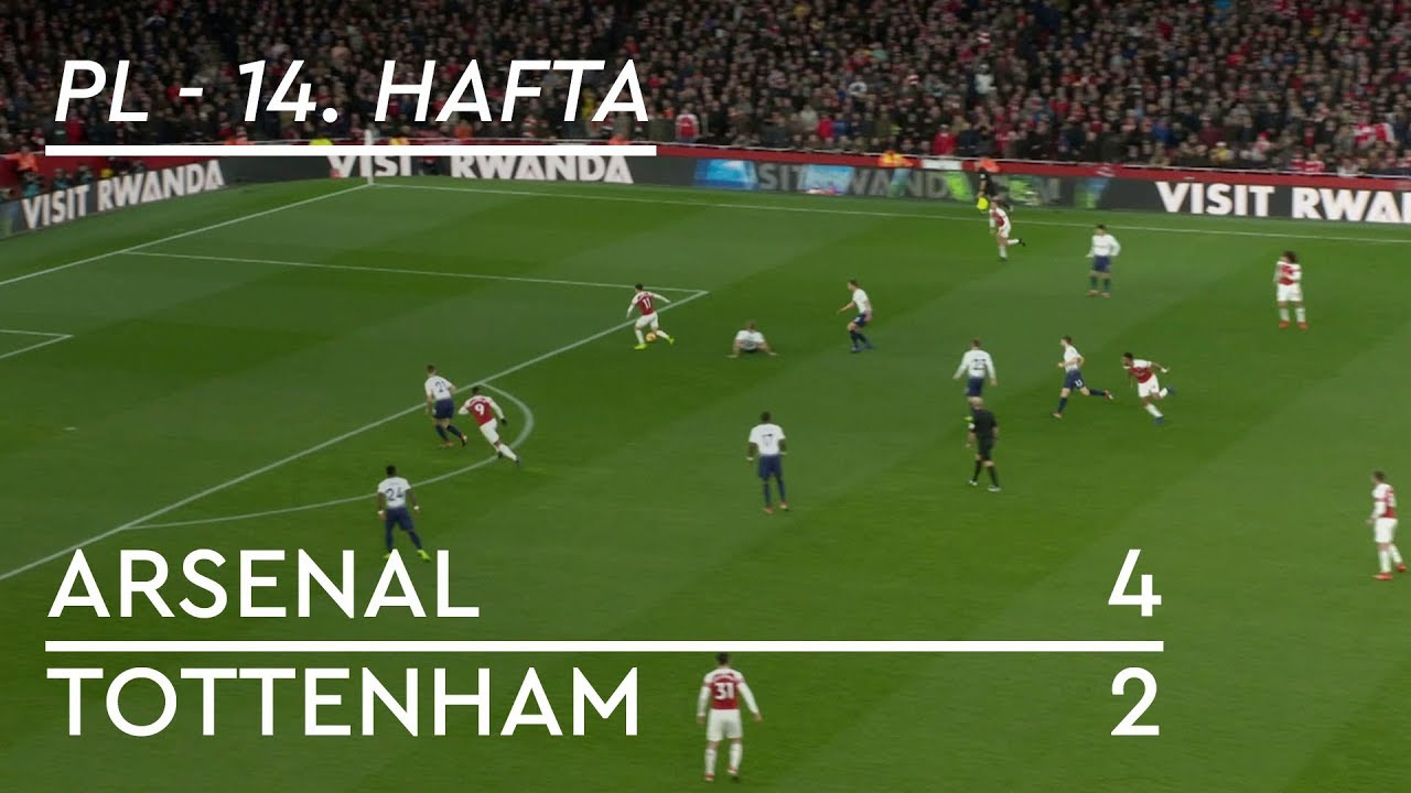 Arsenal - Tottenham (4-2) - Maç Özeti - Premier League 2018/19