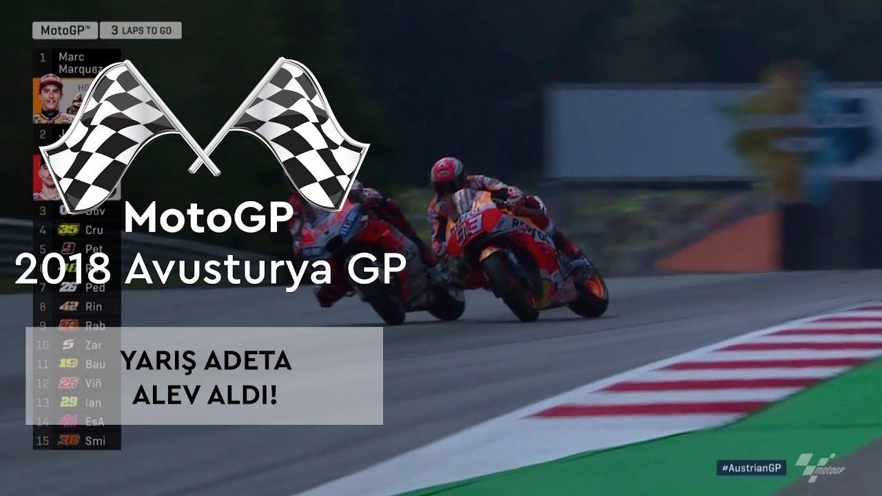 Yarış Adeta Alev Aldı! (2018 MotoGP - Avusturya Grand Prix)