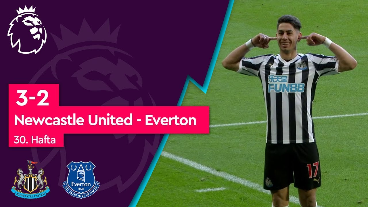 Newcastle United - Everton (3-2) - Maç Özeti - Premier League 2018/19