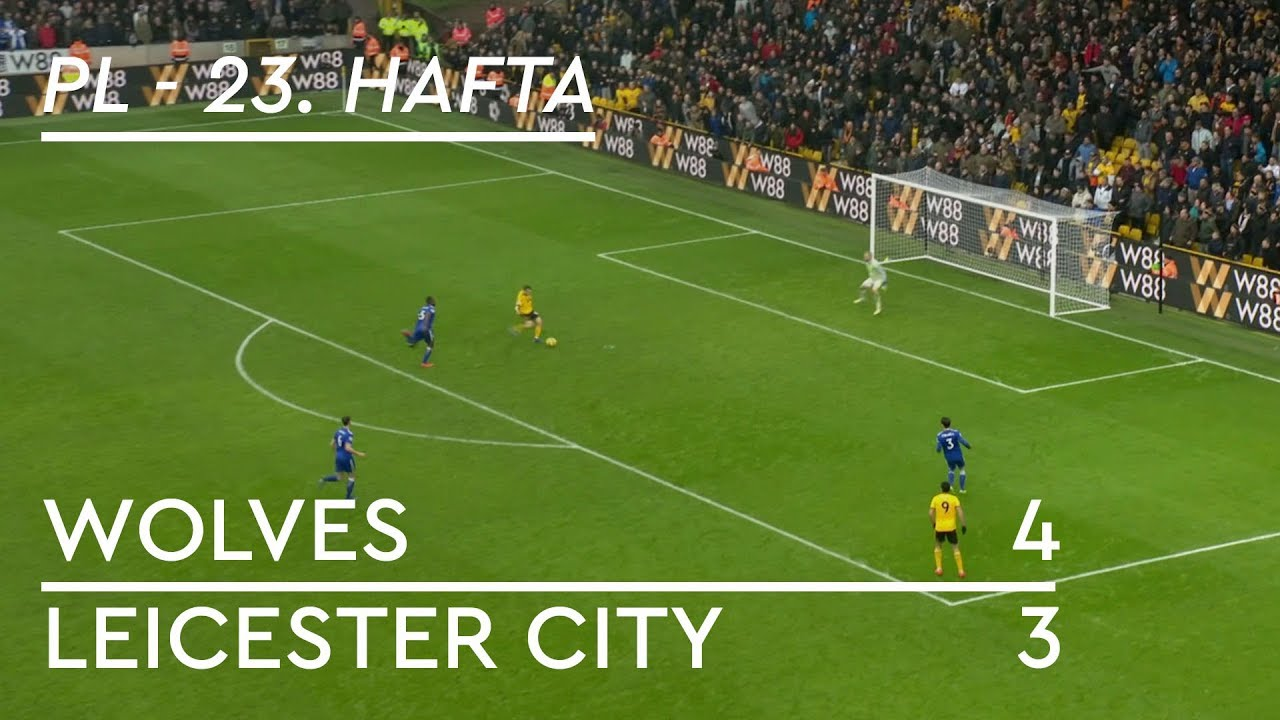 Wolves - Leicester City (4-3) - Maç Özeti - Premier League 2018/19