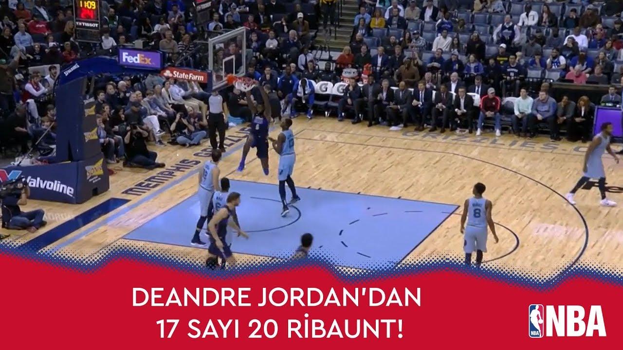DeAndre Jordan'dan 17 Sayı 20 Ribaunt!