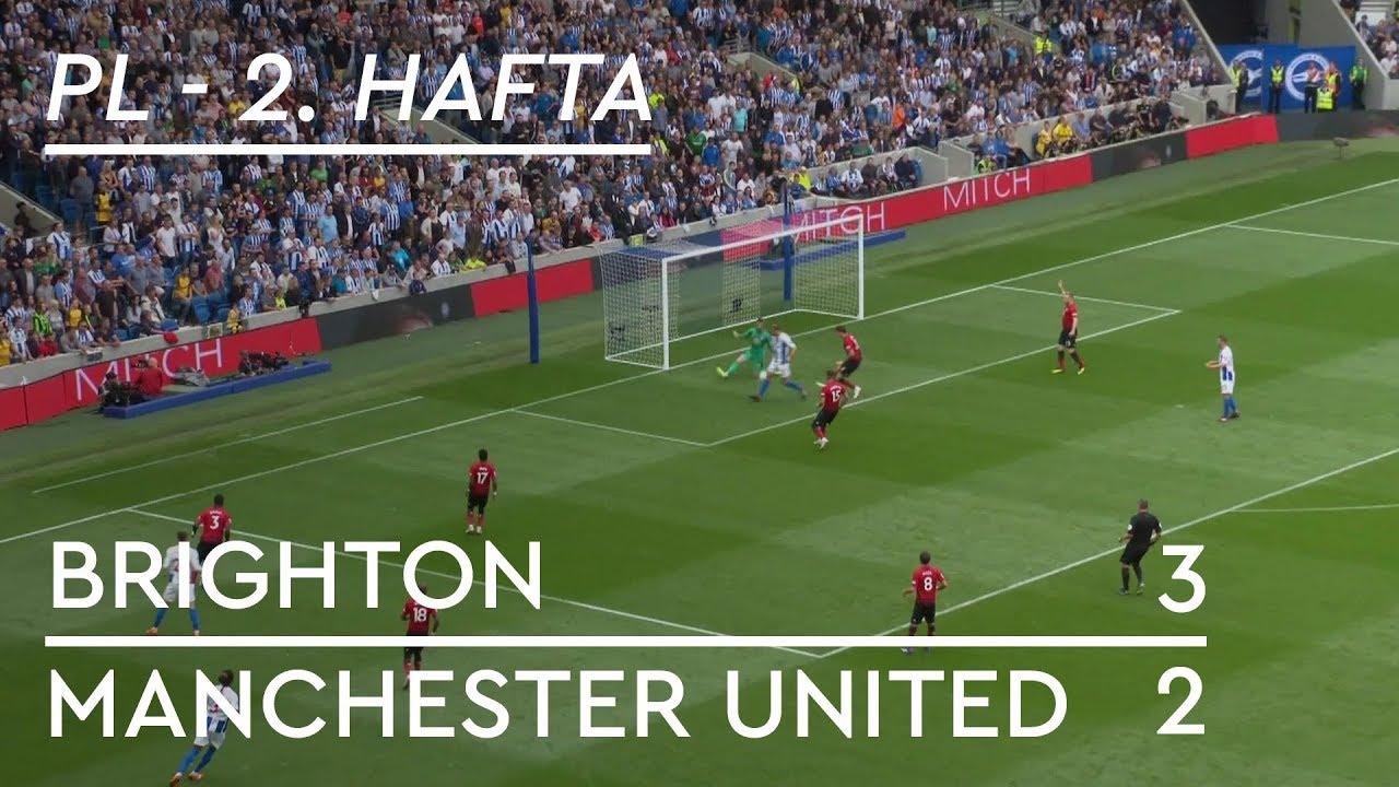 Brighton - Manchester United (3-2) - Maç Özeti - Premier League 2018/19