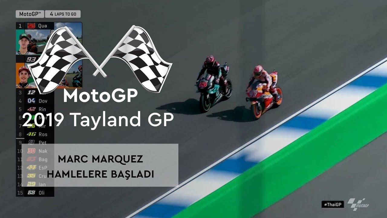 Marquez'in Atak Zamanı! (MotoGP 2019 - Tayland Grand Prix)