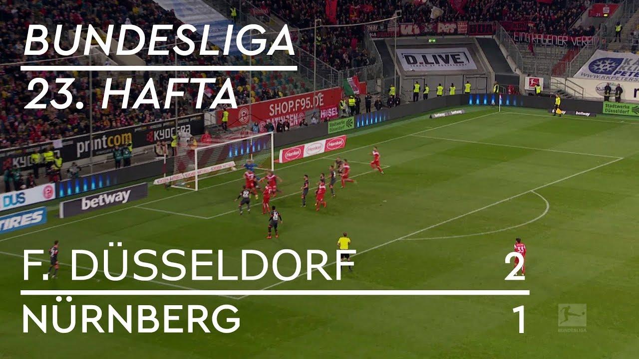 Fortuna Düsseldorf - Nürnberg (2-1) - Maç Özeti - Bundesliga 2018/19