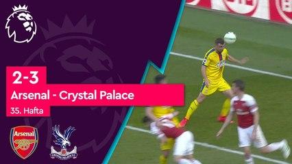 Arsenal - Crystal Palace (2-3) - Maç Özeti - Premier League 2018/19