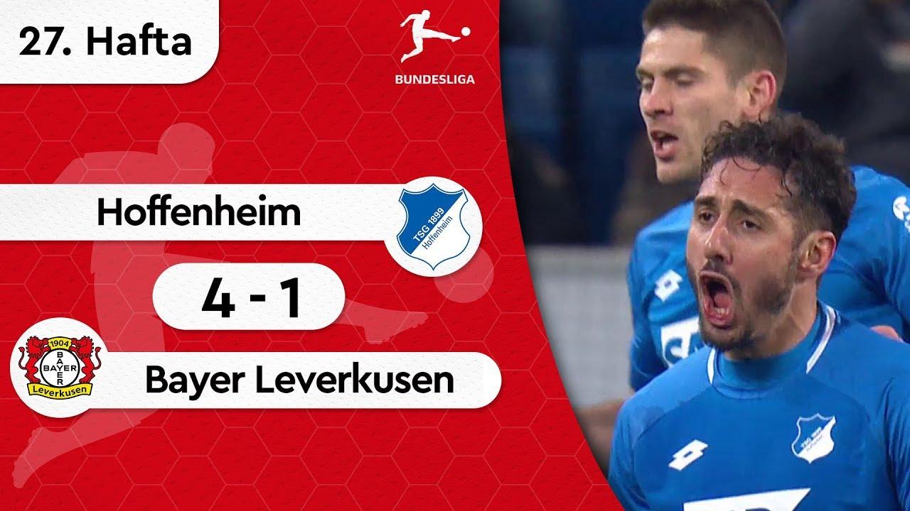 Hoffenheim - Bayer Leverkusen (4-1) - Maç Özeti - Bundesliga 2018/19