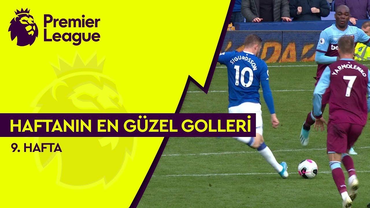 Premier League'de 9. Haftanın En Güzel Golleri (2019/20)