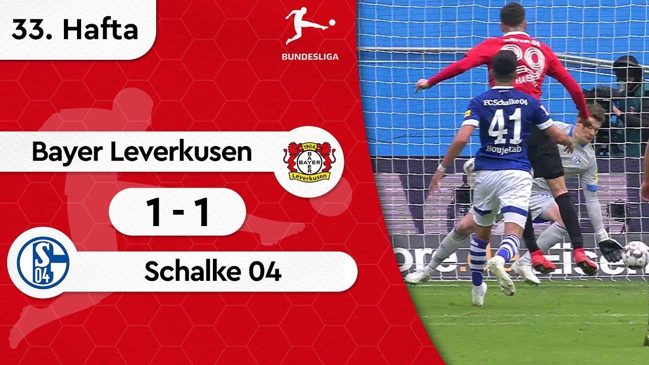 Bayer Leverkusen - Schalke 04 (1-1) - Maç Özeti - Bundesliga 2018/19