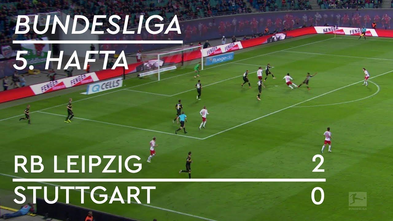 RB Leipzig - Stuttgart (2-0) - Maç Özeti - Bundesliga 2018/19