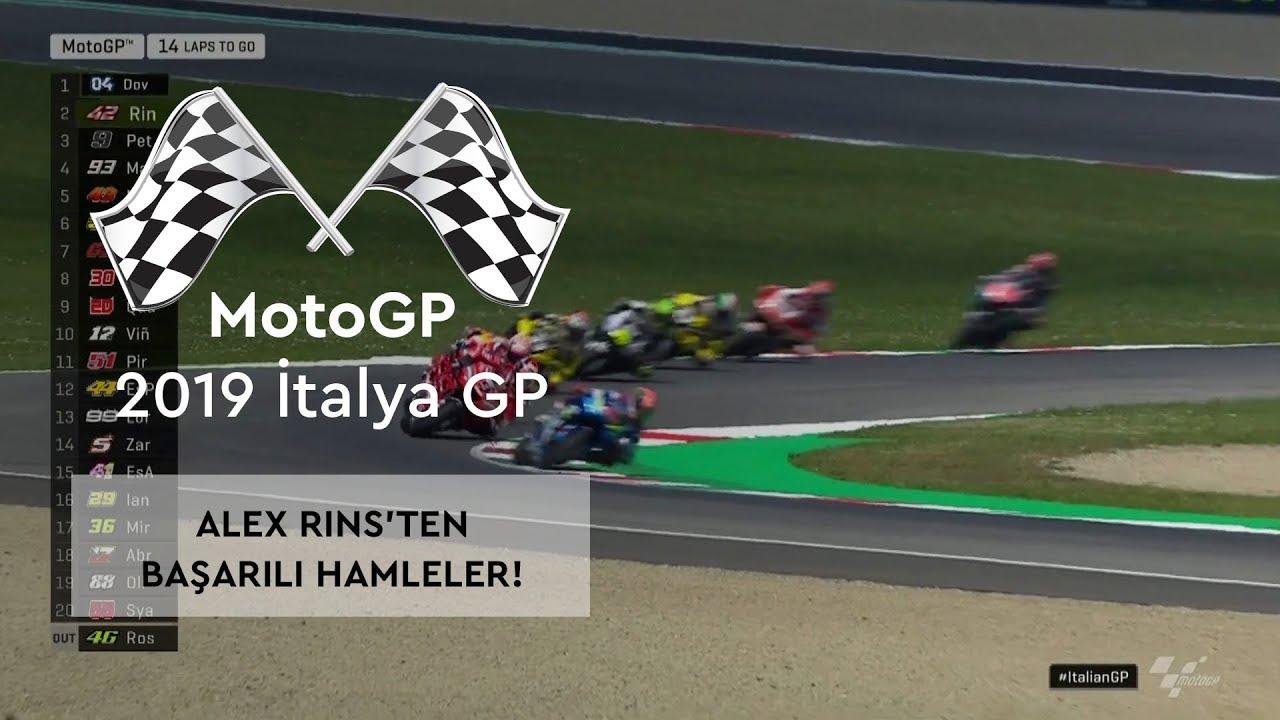 Alex Rins'ten Başarılı Hamleler! (MotoGP 2019 - İtalya Grand Prix)